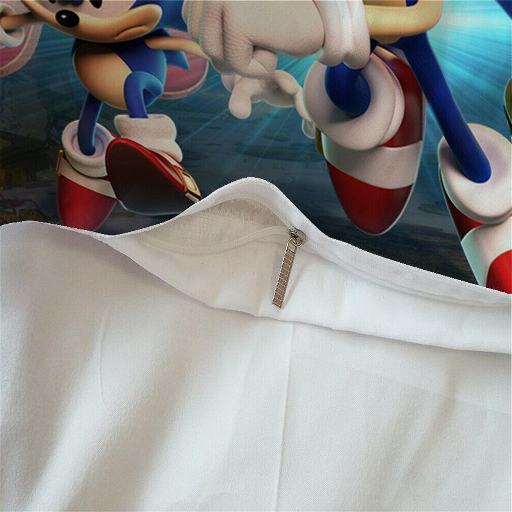 HD 2/3Pieces Duvet Cover Set All Set Sonic The Anime US