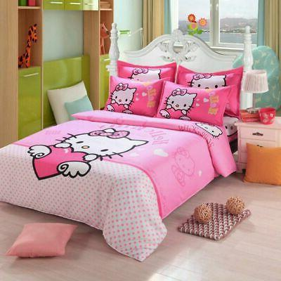 Hello Bedding Sets Duvet Cover Bed Sheet Twin Full Queen