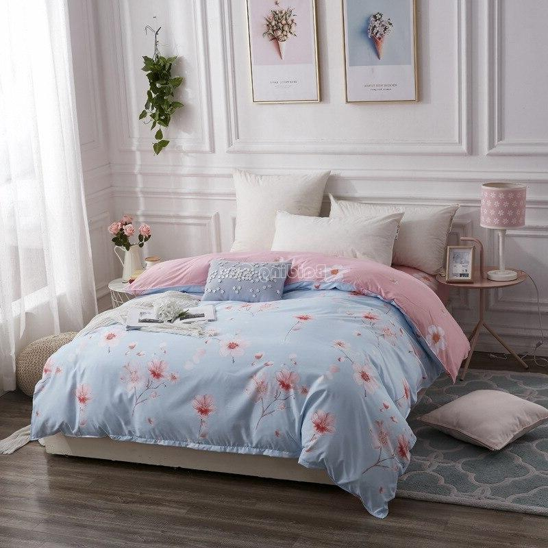 Home White Plaid <font><b>Duvet</b></font> 1 Case for Adult <font><b>Kids</b></font> Twin Full Queen King