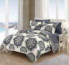 ibiza 3 piece duvet cover set super