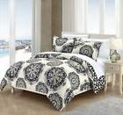 Chic Home Ibiza 7 Piece Duvet Cover Set Reversible Boho Prin