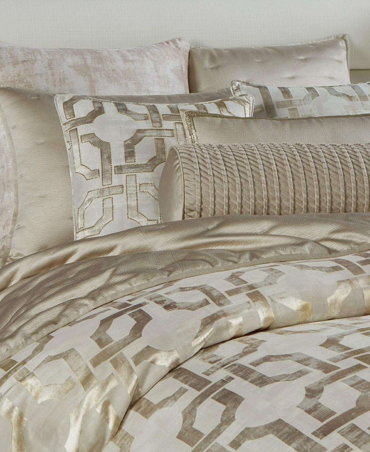 Hotel Collection King Cover Fresco Gold L92137