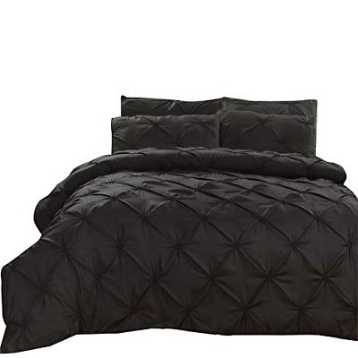 luxury style pinch pleat duvet cover set