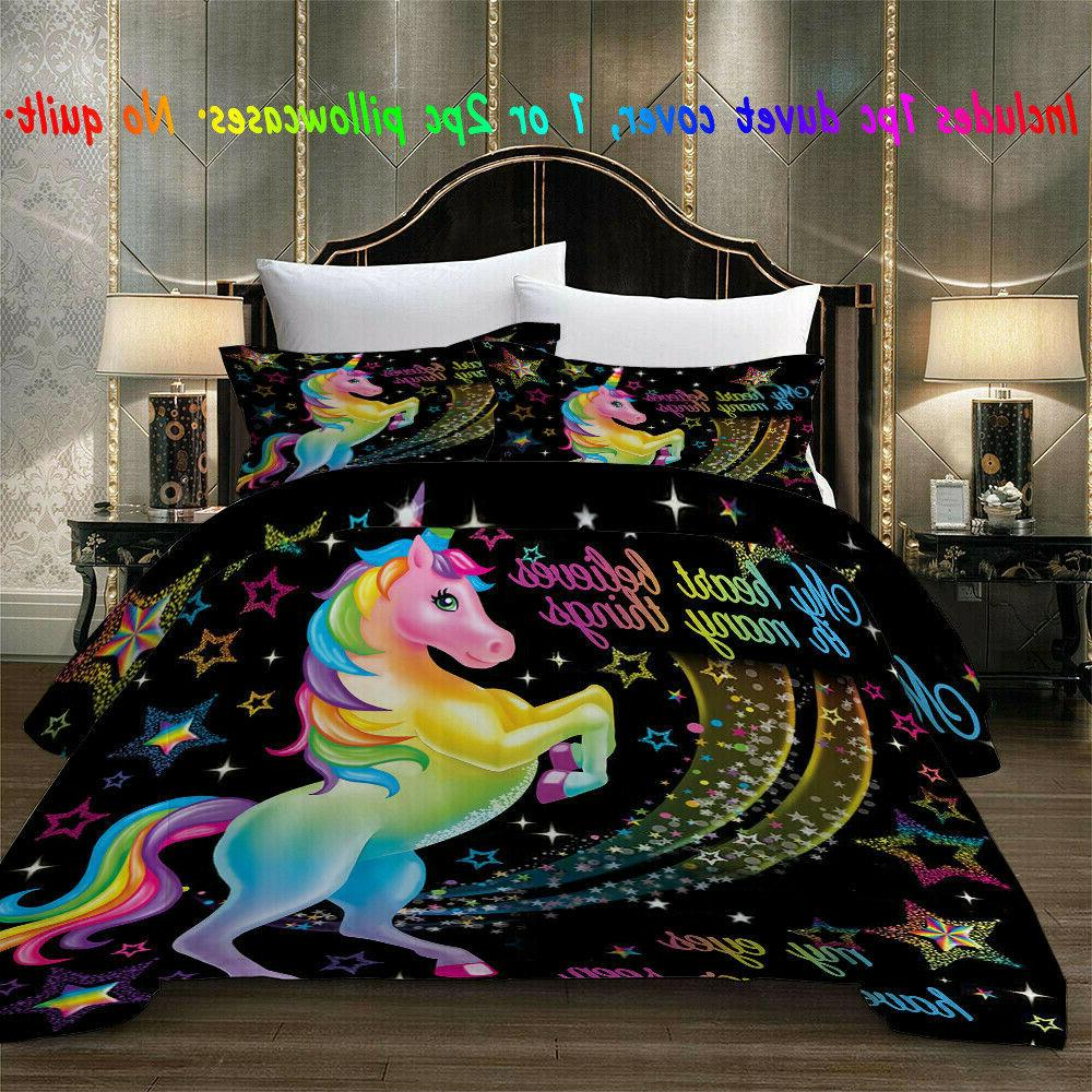 Magical Bedding Set Cover Comforter 3D