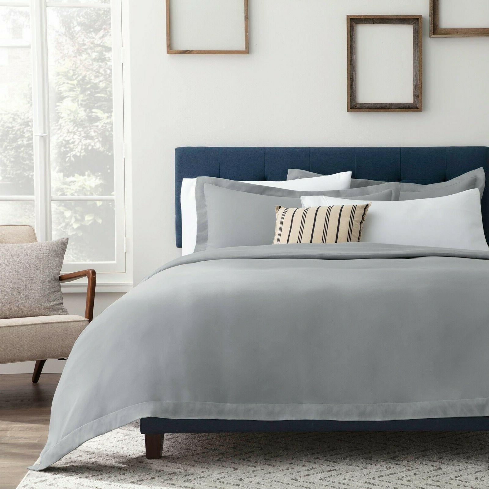 Brookside Microfiber Duvet Cover-Multiple Colors and Available