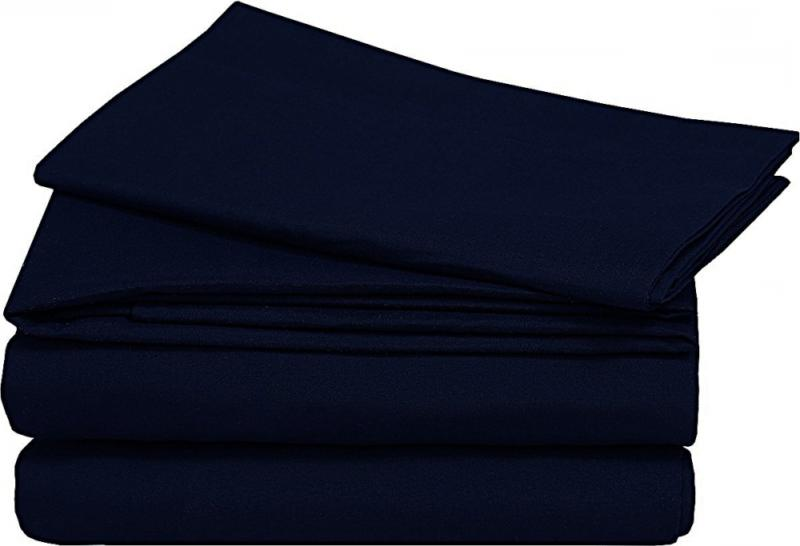 NEW Navy Blue Size Duvet Cover Set with Shams