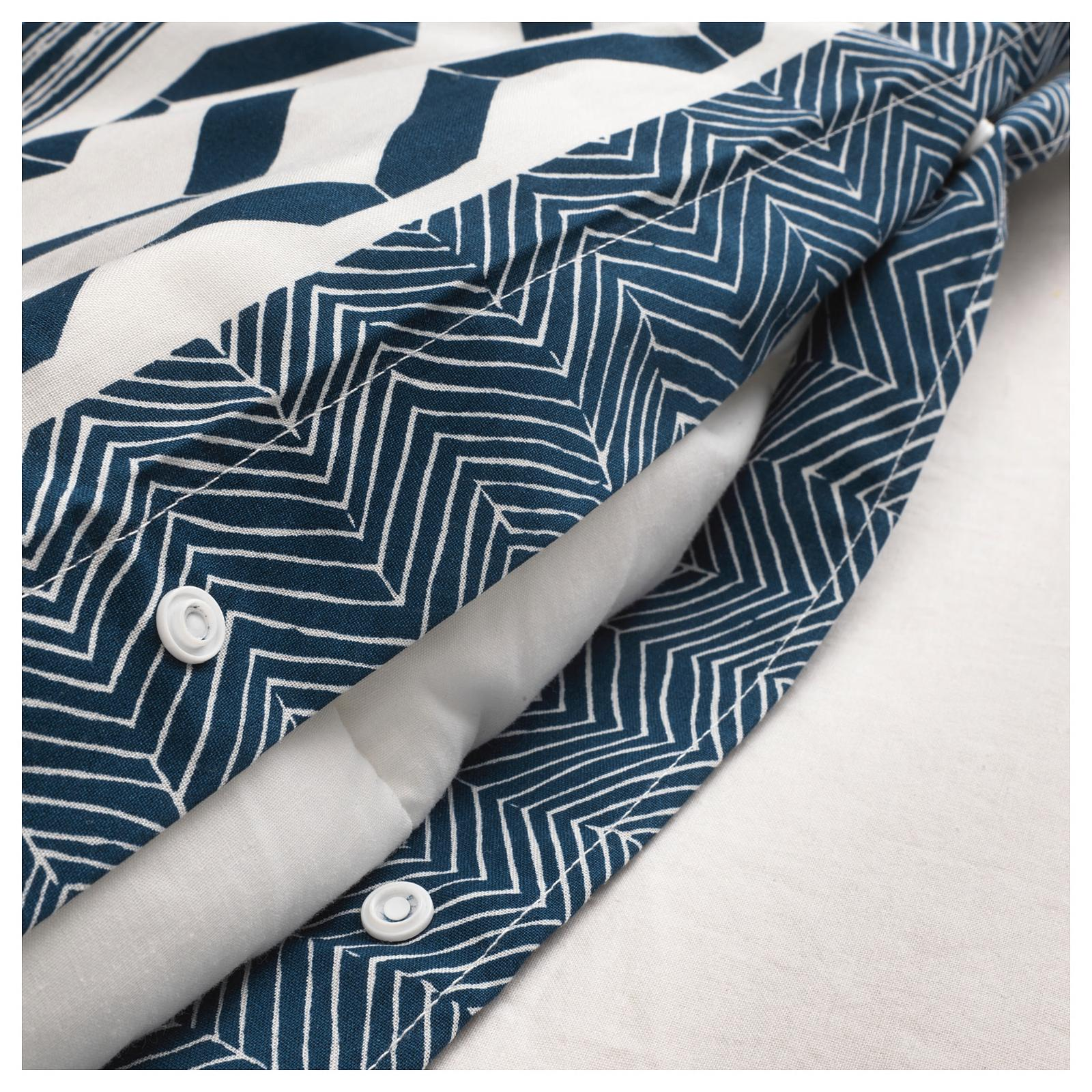 New IKEA Duvet cover and white,
