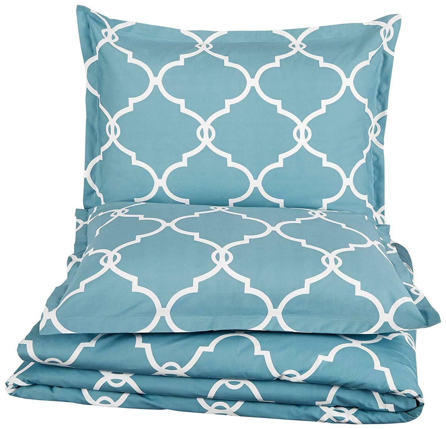 Pinzon Cool Percale Duvet Set,