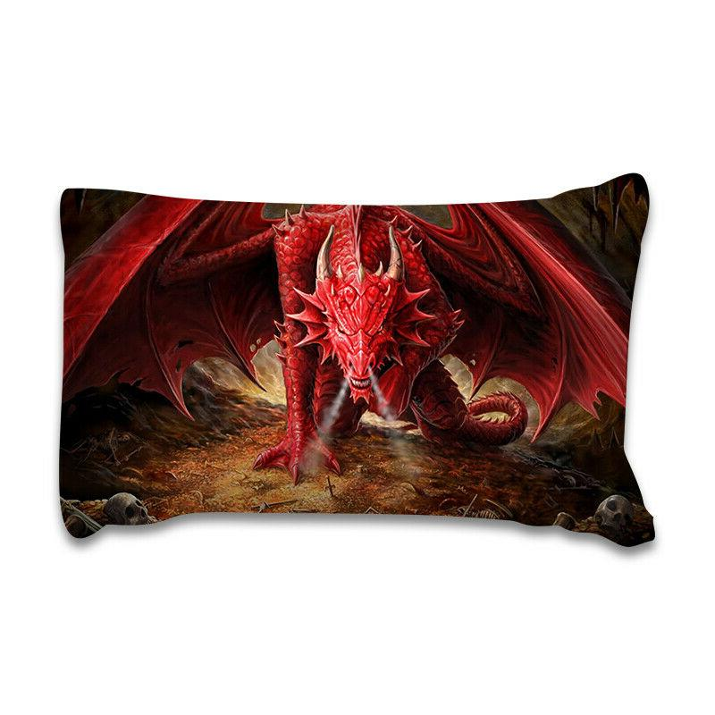 Red Dragon Cover Set Size Animal Set Beast US