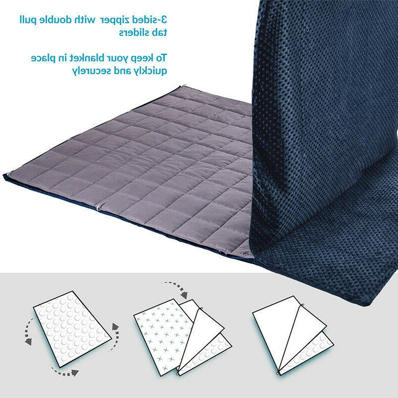 Bedsure Removable for Weighted Grey