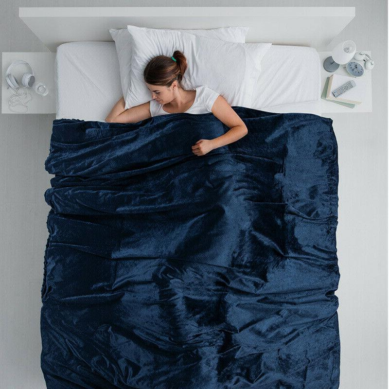 Bedsure Removable for Weighted Blanket Grey