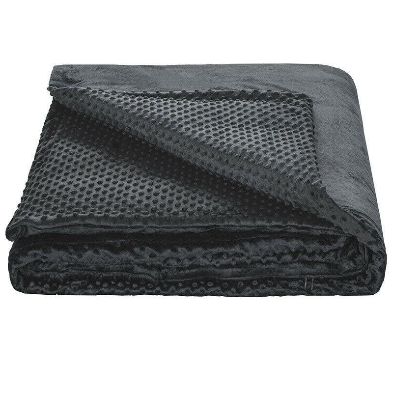 removable duvet cover for weighted blanket 60x80