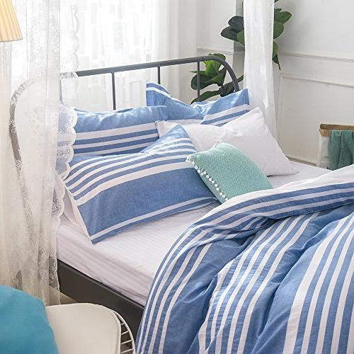 Merryfeel cotton Cover Set - Blue