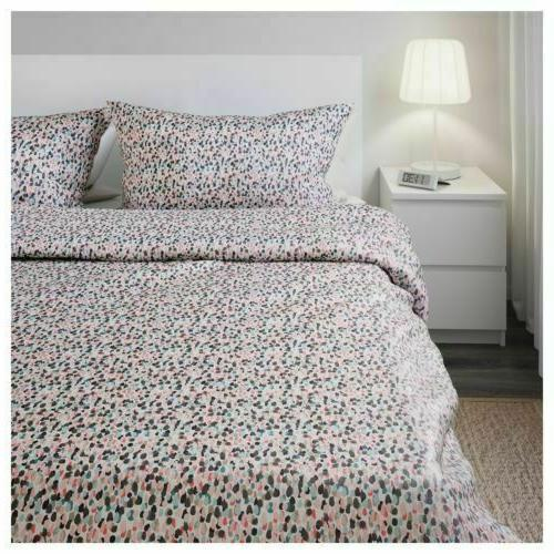 IKEA Full/Queen , King dotted, multicolor