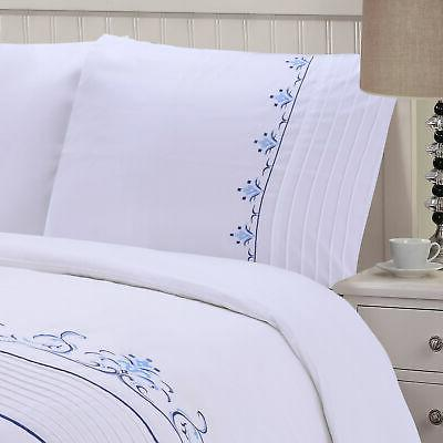 Sofia Embroidered Duvet Cover King/Cal