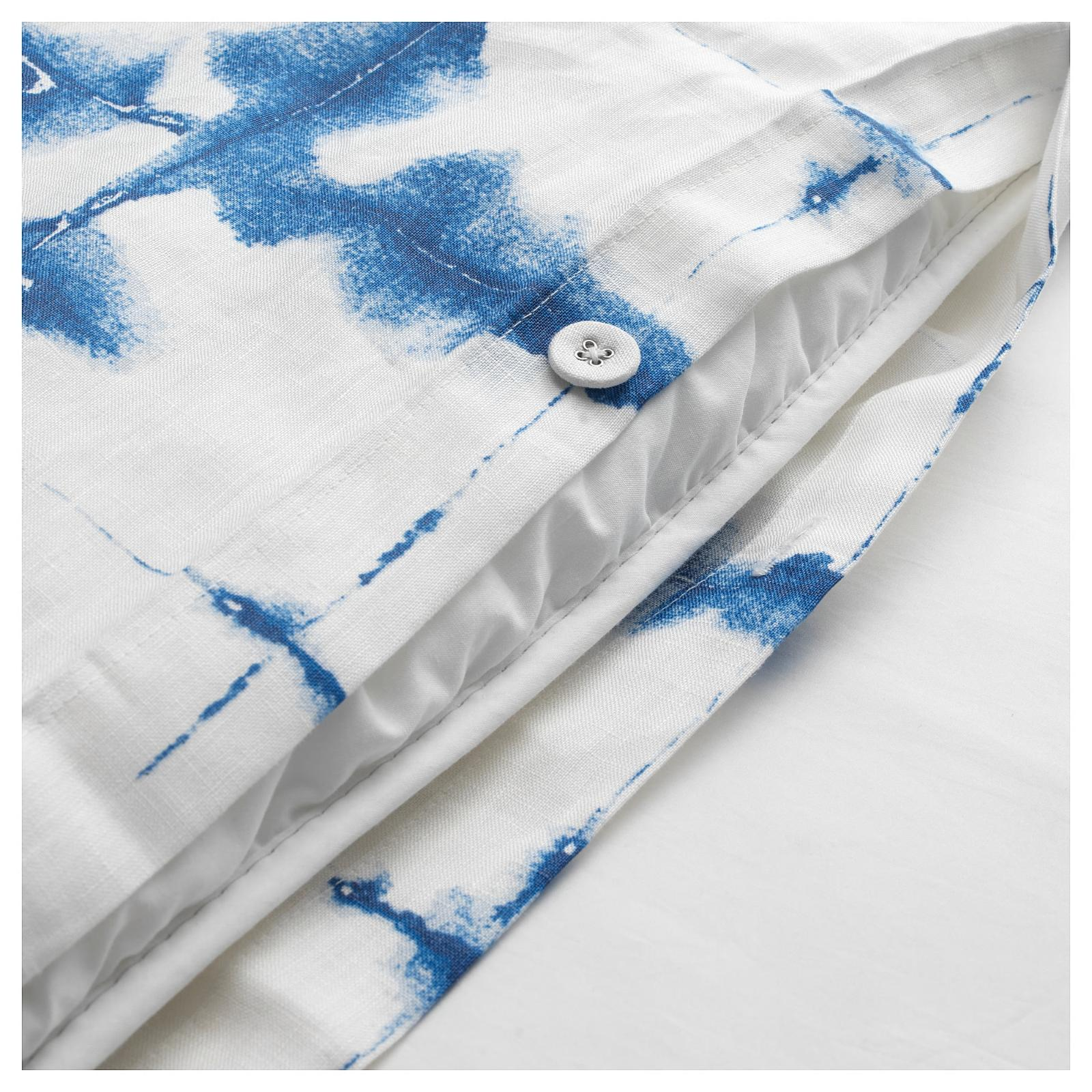 Ikea cover check pattern Linen