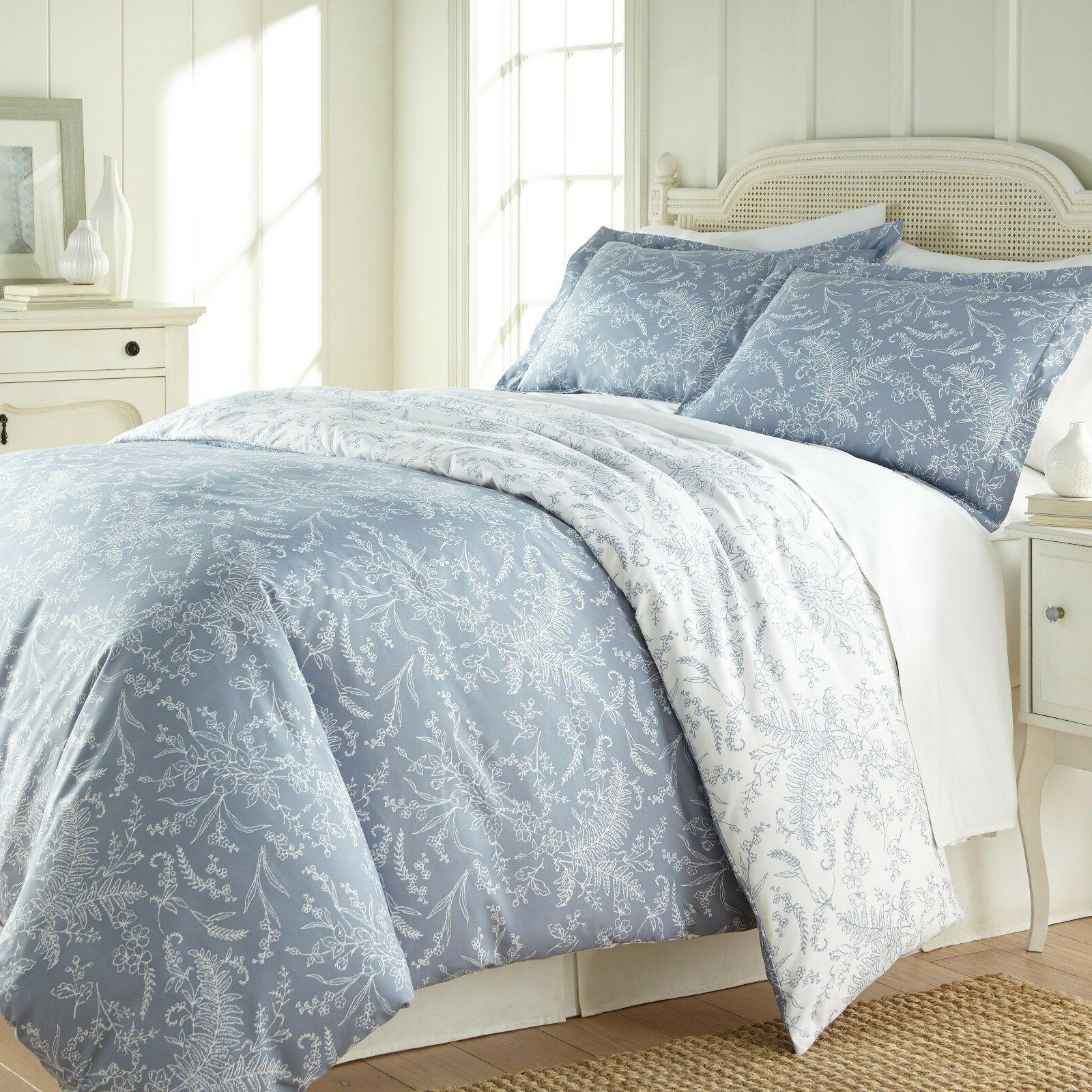 Ultra Soft 3-piece Winter Floral Cover Set