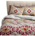 BOHO BOUTIQUE Utopia Twin Duvet Cover Set Red Orange Multi N