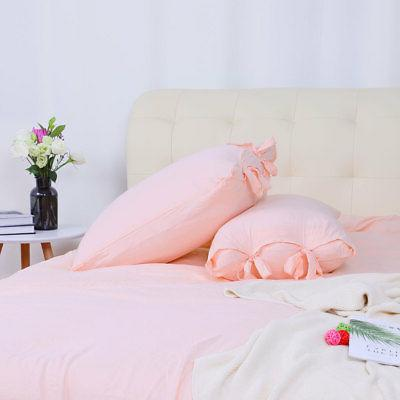 Washed Cotton Set Comforter Cover Bed