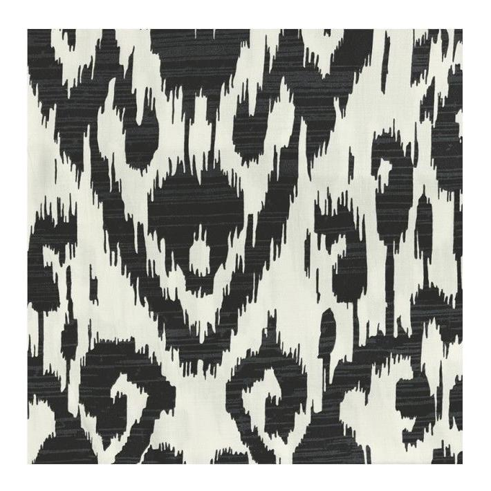 Williams Sonoma Home Ikat Sateen Black, Full/Queen