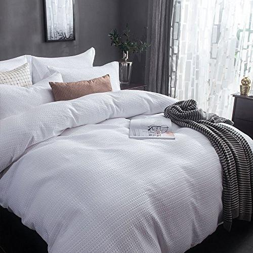 Merryfeel Cover Sand Washed Cotton Weave Duvet - Full/Queen