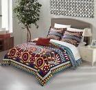 Chic Home Zaiden 4 Piece Duvet Cover Set Tribal Print Geomet