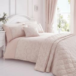 Laurent Pink Bedding. Choose From Duvet Sets Throw Curtains