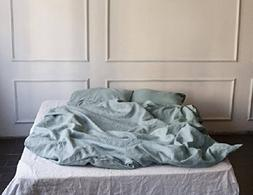 Linen bedding set, linen bedding queen, linen luxury bedding