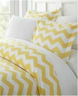 Ienjoy Home Lucid Dreams Chevron Patterned King Duvet Cover