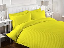 Luxurious & Hypoallergenic 1 Piece Striped Duvet Cover with