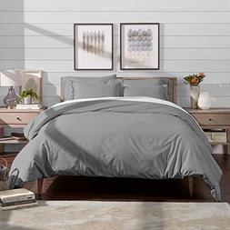 Bare Home Luxury 3 Piece Duvet Cover and Sham Set - Premium
