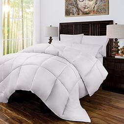 Zen Bamboo Luxury Goose Down Alternative Comforter - All Sea