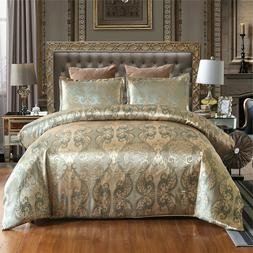 Luxury Jacquard Bedding Set Duvet Cover Sets Comforter Cover