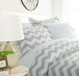 Luxury Ultra Soft Classic Chevron Duvet Cover Set By Sharon