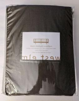 matress daybed cover taupe brown fits twin