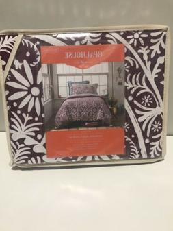 Opalhouse Medallion Tassel Reversible Duvet Cover Set Twin/X