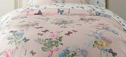 Monique Lhuillier Organic Sateen Floral Bouquet Duvet- Full