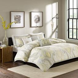 Madison Park MP12-1901 Samir 6 Piece Duvet Cover Set, King/C