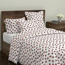 Nature Insects Bug Ladybug Garden Home Kitchen Sateen Duvet