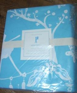 New POTTERY BARN KIDS Blue *CHINOISERIE* Full Queen 100% Cot