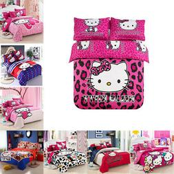 new hello kitty bedding sets 4pc kids