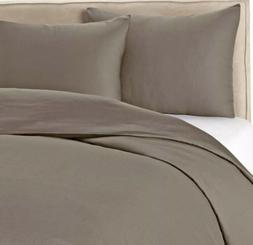 NEW Wamsutta King 400 Thread Count Sateen Weave 3 Piece Duve