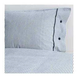 IKEA Nyponros Full / Queen Duvet Cover and Pillowcases Blue