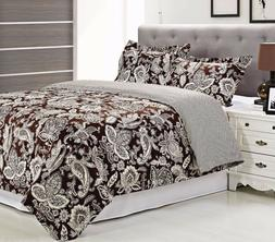 Simple Luxury Overbrook 3 Piece Duvet Cover Set