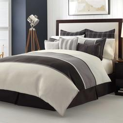 Nautica Oyster Point Duvet Cover Twin XL  &  Sham 2 Pc Set G