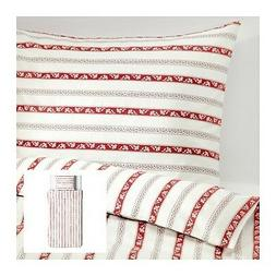 IKEA PARLHYACINT - Duvet Cover and Pillowcase Twin Size Whit