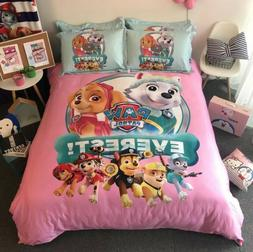 Paw Patrol 100%Cotton Cartoon Duvet Cover Bedding Set High Q