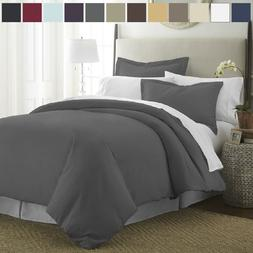 Premium Quality Ultra-Soft 3 Piece Duvet Cover Set by The Ho