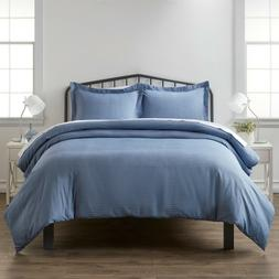 Home Collection Premium Ultra Soft Blue Diamond Pattern 3 Pi