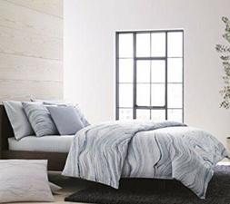 Calvin Klein Quartz Fog 3 Pc 100% Cotton Sateen King Duvet C